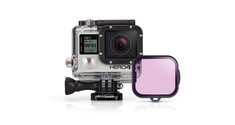Picture of GoPro Magenta Dive Filter for Dive & Wrist Housing