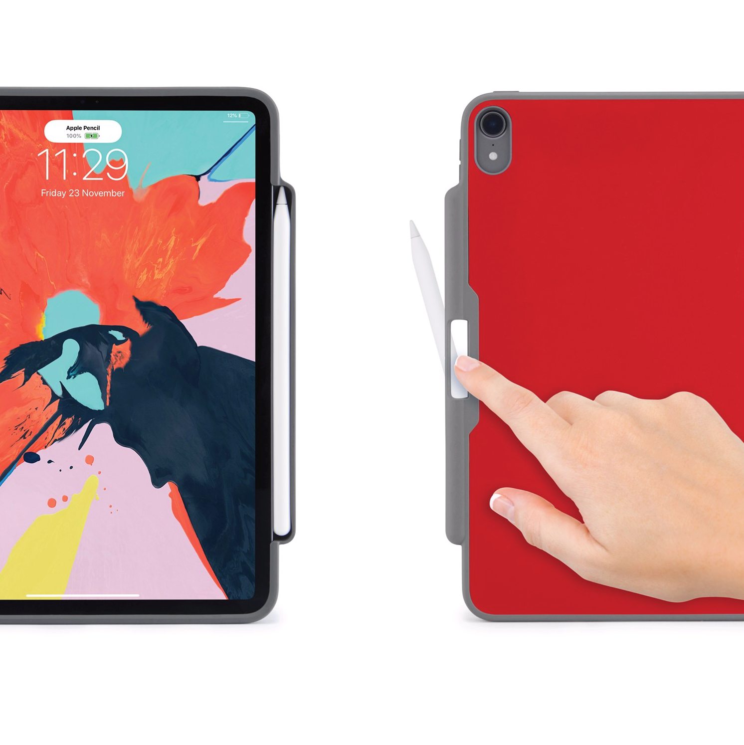 """Picture of iPad Pro 12.9"""" (2018) Origami Pencil Case 5-in-1 Ruggedised Case"""