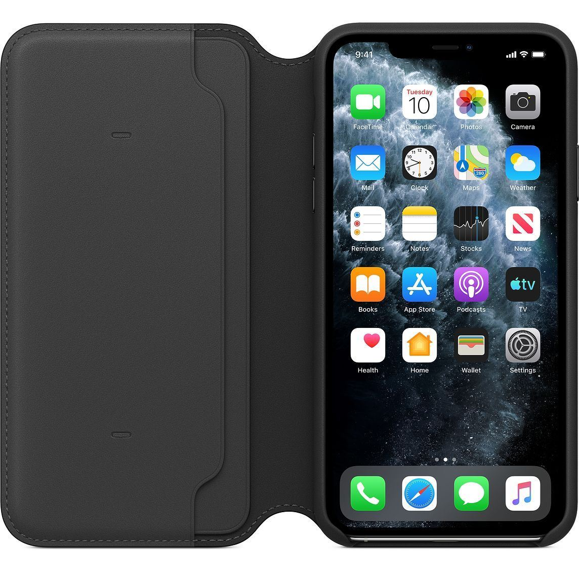 Picture of iPhone 11 Pro Max Leather Folio