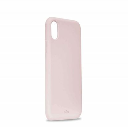 Picture of Puro Cover Silicon with microfiber iPhone X