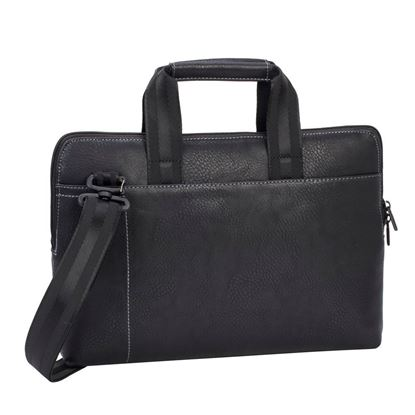 Picture of RivaCase 8920 Black Slim Laptop Bag 13.3""
