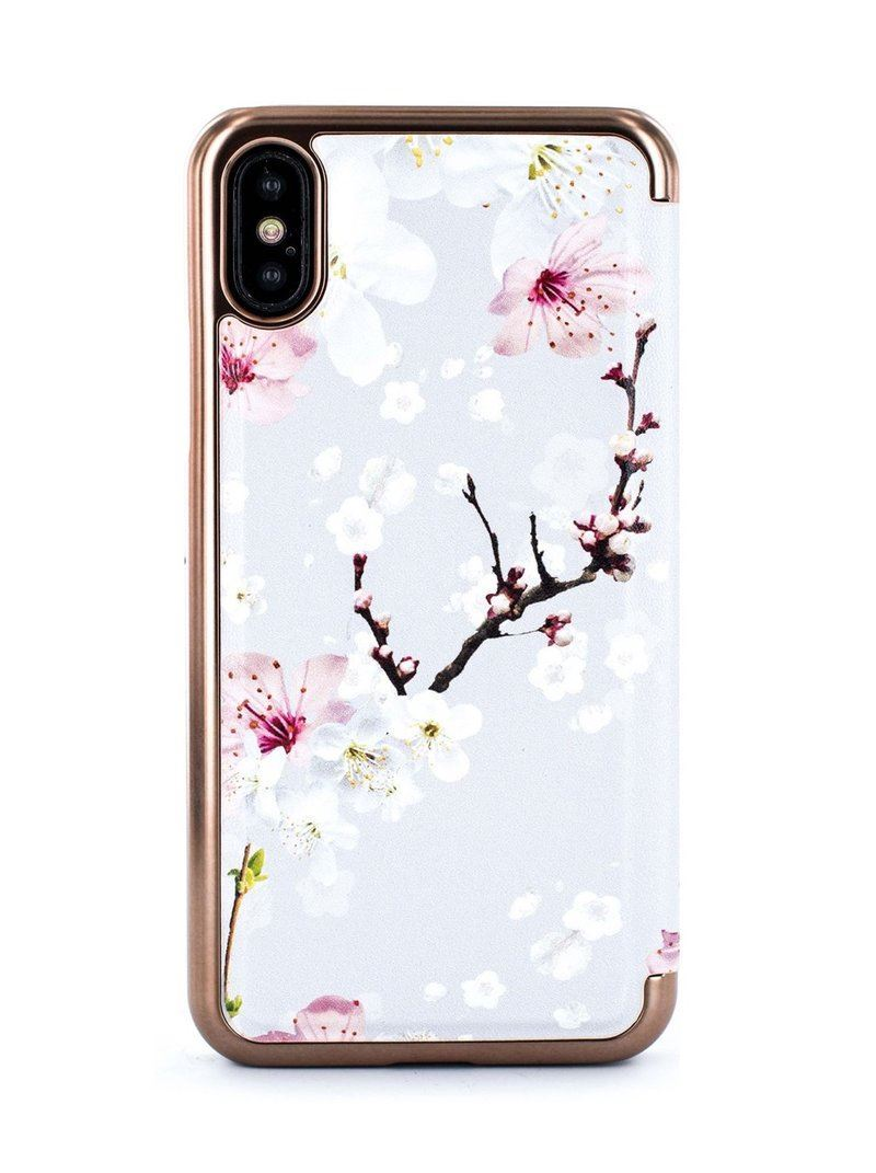 Picture of Ted Baker - Oriental Blossom Folio Case for iPhone X / XS