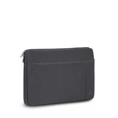 Picture of RivaCase 8203 Black Laptop Sleeve 13.3""