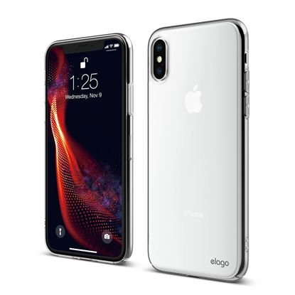 Picture of Elago iPhone XS Slim Fit Crystal Clear Case