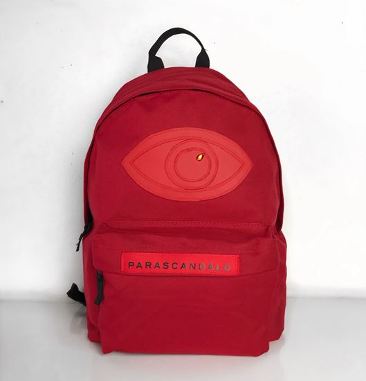 Picture of Parascandalo Eyeconic BackPack in Red