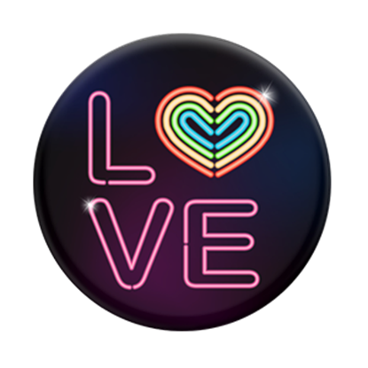 Picture of Pop Sockets - Neon Love