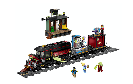 Picture of LEGO Hidden Side Ghost Train Express