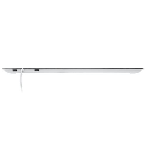 Picture of Macally Ultra Slim Wired  Keyboard with 2 USB Ports