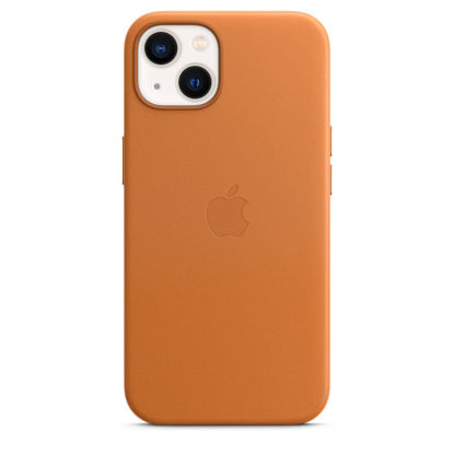 Picture of Apple iPhone 13 Leather Case with MagSafe