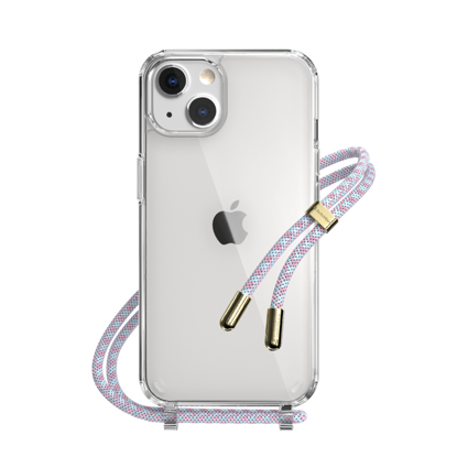 Picture of SwitchEasy Play Lanyard Shockproof Clear Case for iPhone 13 Series